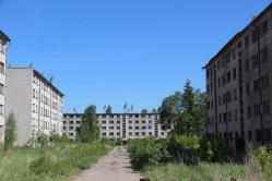 Skrunda-1, Latvia, hotel buildings