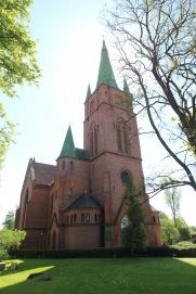 Kuldīga church, Latvia