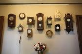 Kuldīga Museum, clocks, Latvia