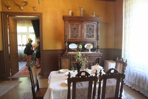 Kuldīga Museum, dining room, Latvia