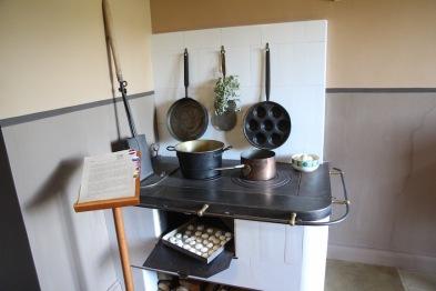 Kuldīga Museum, kitchen, Latvia