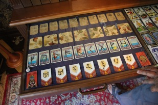 Kuldīga Museum, playing cards