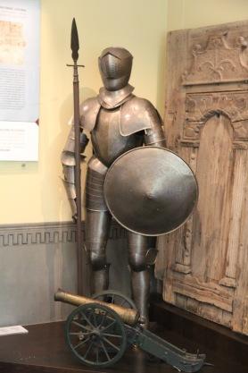 Kuldīga Museum, armour