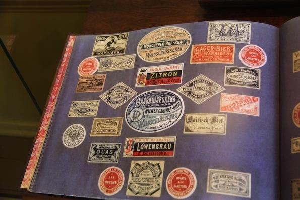 Kuldīga Museum, labels