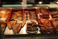 Riga market, dried fish