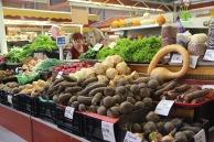 Riga market, vegetables