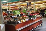 Riga market, produce
