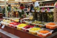 Riga market, pickled goods