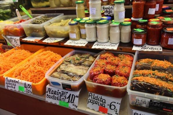 Riga Market, pre-made meals