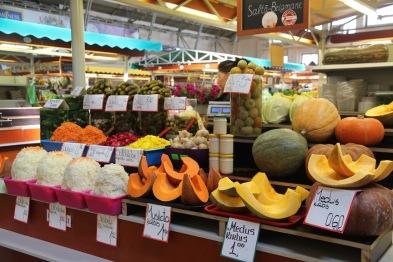 Riga market, pumpkins