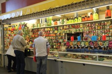Riga market, seeds