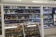 Riga market, alcohol