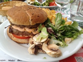 Burger in Brittany