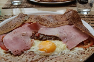 Galette in Brittany