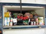 Food storage on truck
