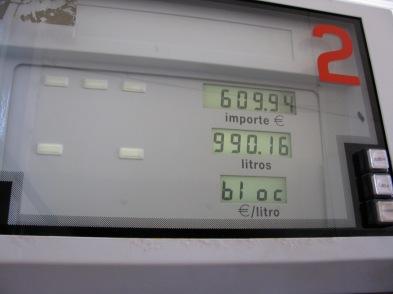 990 litres