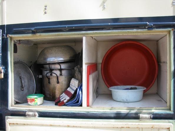 Washing up storage