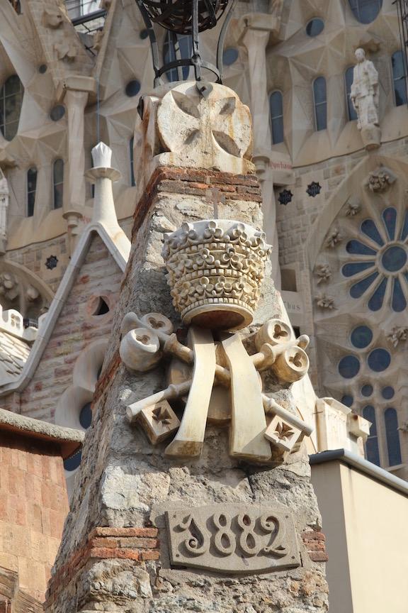 Sagrada Familia dated
