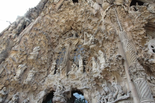 Sagrada Familia Nativity façade