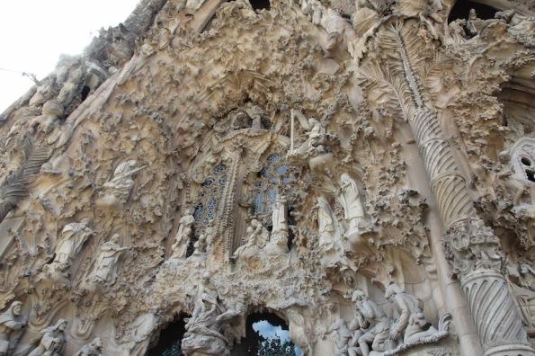Sagrada Familia Nativity façade