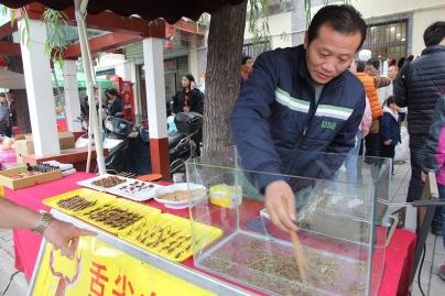 Chasing scorpions, China