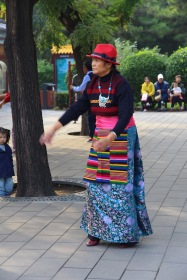 Dancing, China