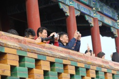 Taking photos, China