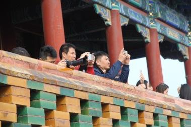 Taking photos, China