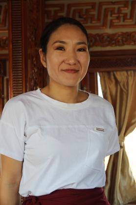 Trans Mongolian waitress