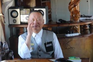 Trans Mongolian waiter