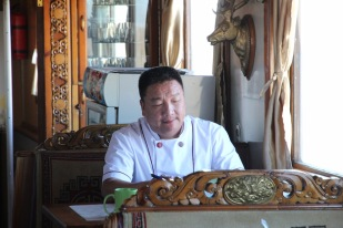 Trans Mongolian chef