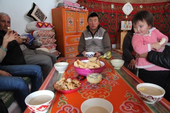 Kazakh homestay in Mongolia