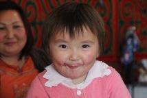Kazakh child