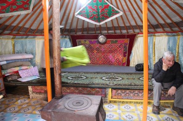 Mongolian gir interior
