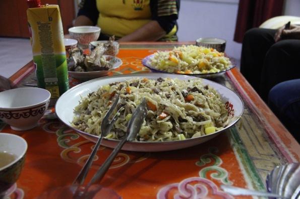 Mongolian meal