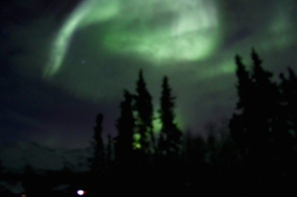 Northern Lights in Alaska 2016
