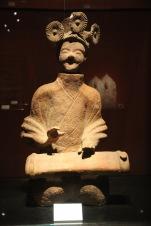Pottery figure