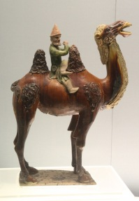 Sogdian on camel