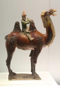 Sogdian on camel