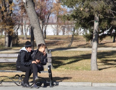 Couple in Irkutsk