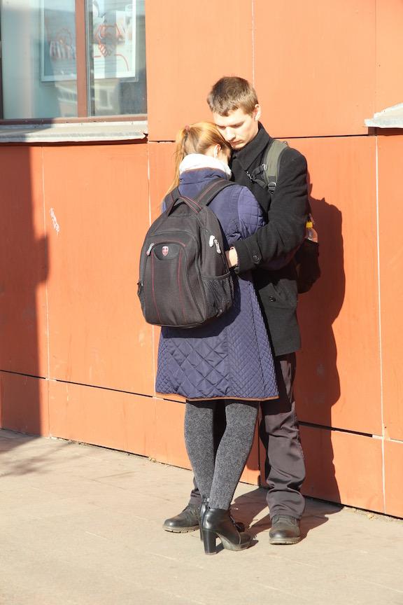Couple in Irkutsk