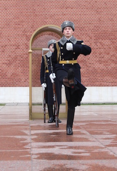 Changing of the Guard, Kremlin, Moscow