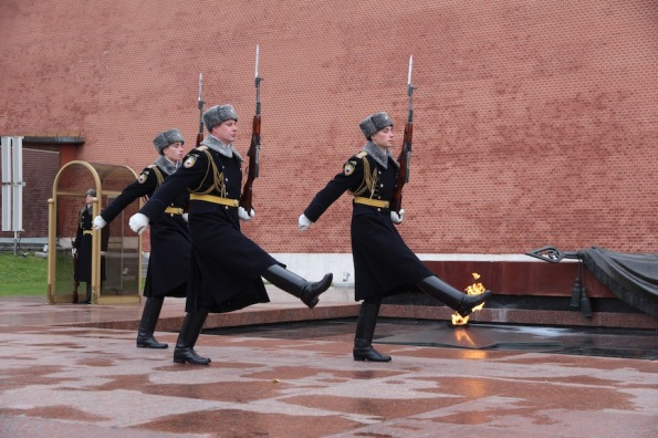 Changing of the Guard, Kremlin, Russia