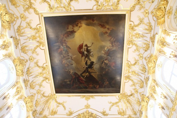 Ceiling, Great Church of the Winter Palace in Saint Petersburg