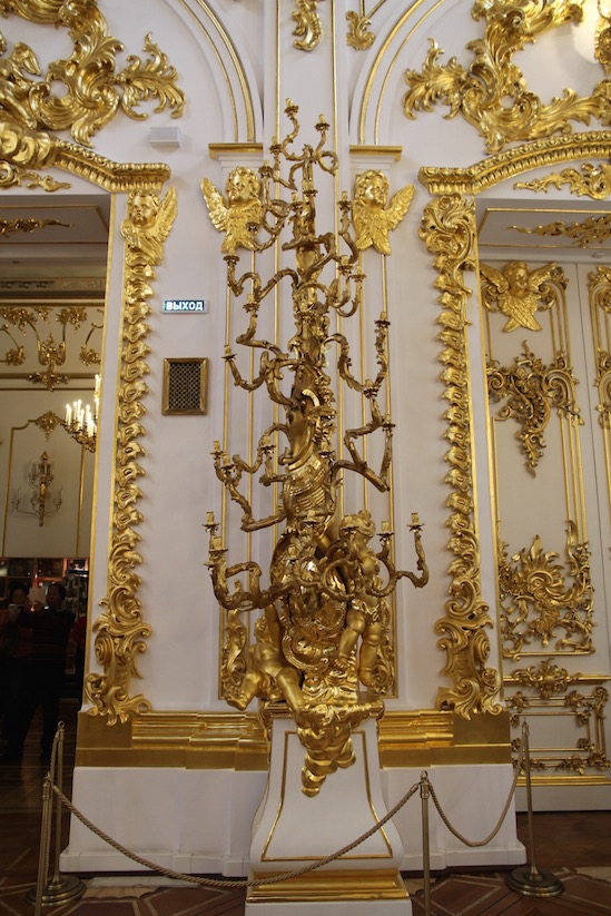 Candelabra, Great Church of the Winter Palace in Saint Petersburg