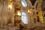 Pulpit, Great Church of the Winter Palace in Saint Petersburg