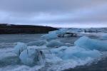 Icebergs from Jökulsárlón lagoon
