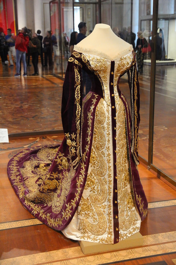 Court ceremonial dress, Hermitage Museum