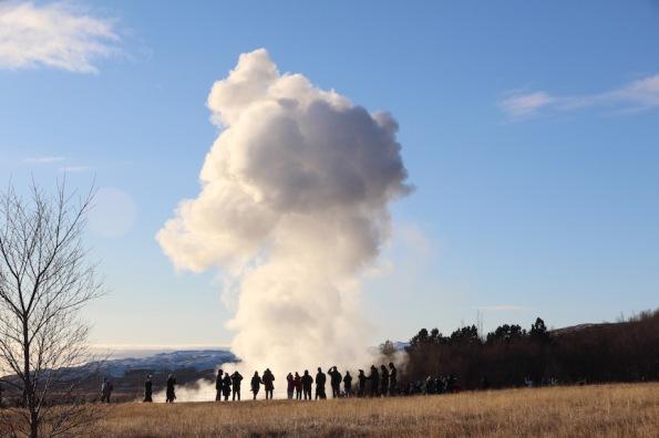 Strokkur geyser, Golden Circle, Iceland