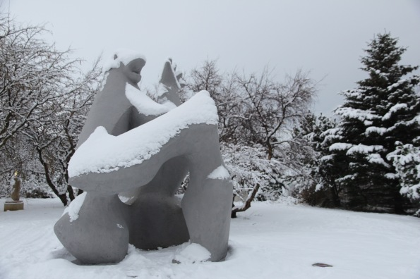 Sculpture by Ásmundur Sveinsson